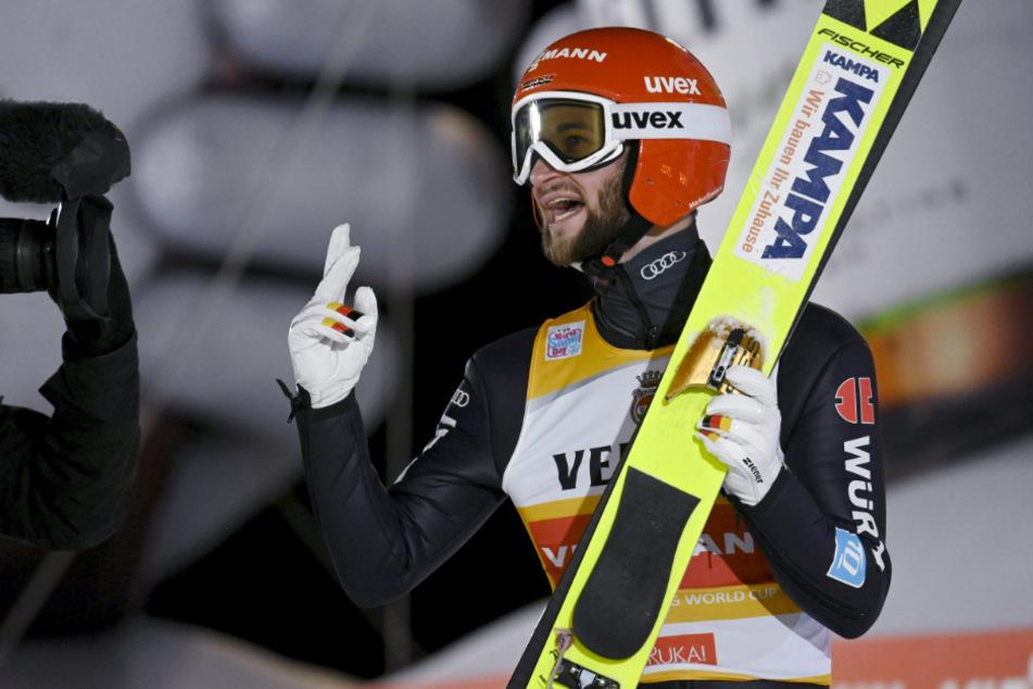 """Markus Eisenbichler: """"Skifliegen ist fast so gut wie Sex"""""""
