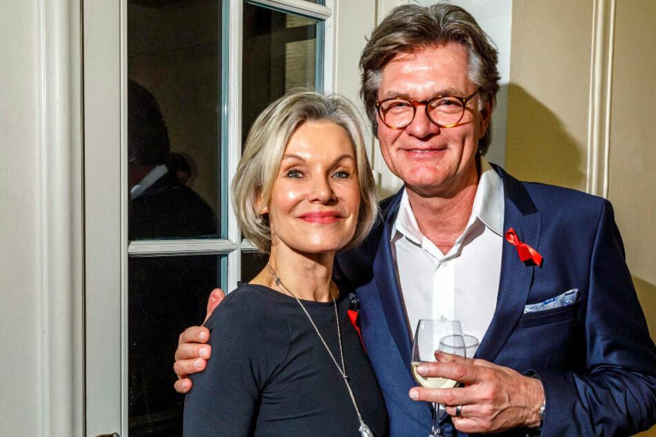 Liebe hält fit und Ehefrau Ulrike (65) ihren Mann Peter jung. Zusammen besuchten sie 2019 auch die Hope Gala in Dresden.