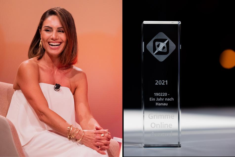 """Moderatorin Nazan Eckes (45) war bei der Verleihung des """"Grimme Online Awards"""" in Köln vor Ort. (Fotomontage)"""