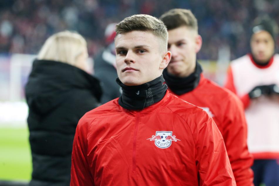 Trotz Vertragsverlängerung bei RB Leipzig bis 2025 soll Fabrice Hartmann (20) in Paderborn erstmal Spielpraxis sammeln. (Archivbild)