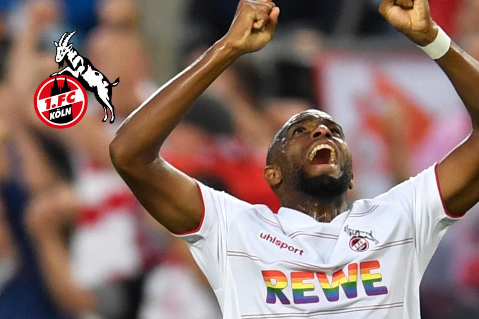 """FC-Stürmer Anthony Modeste ganz emotional: """"Er ist wie mein Papa"""""""