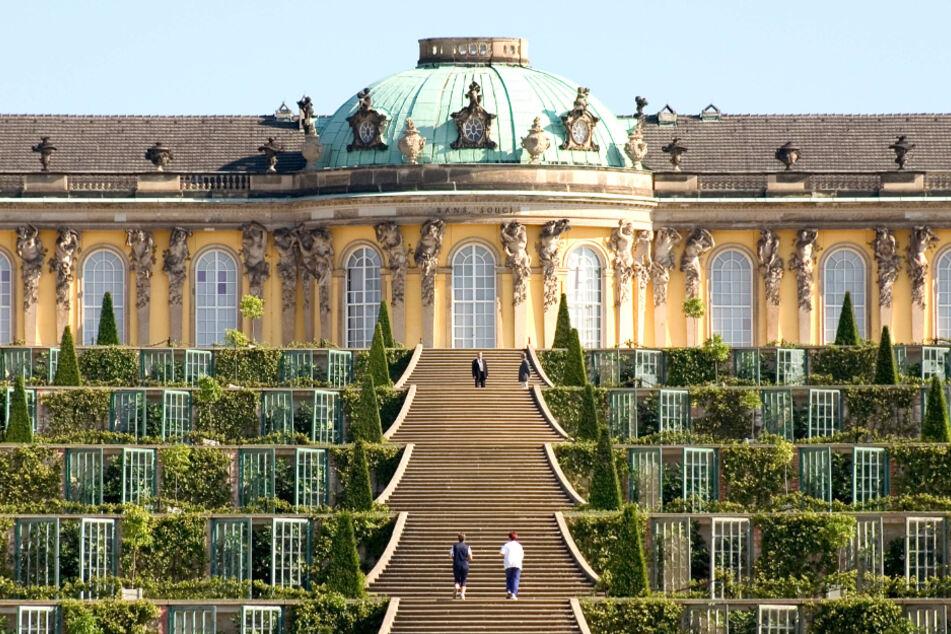 Lustschloss Sanssouci.