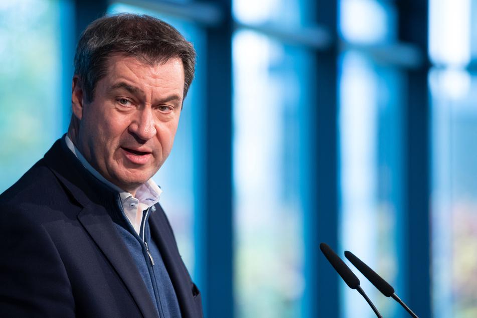 """Bayerns Ministerpräsident Markus Söder (CSU) stellt klar: """"Anti-Corona-Maßnahmen müssen überall eingehalten werden, auch bei Demonstrationen."""""""