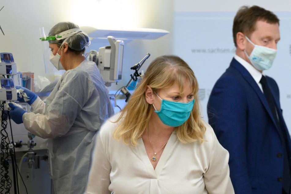 Trotz aller Maßnahmen: Wieder viele Infizierte und Tote in Sachsen