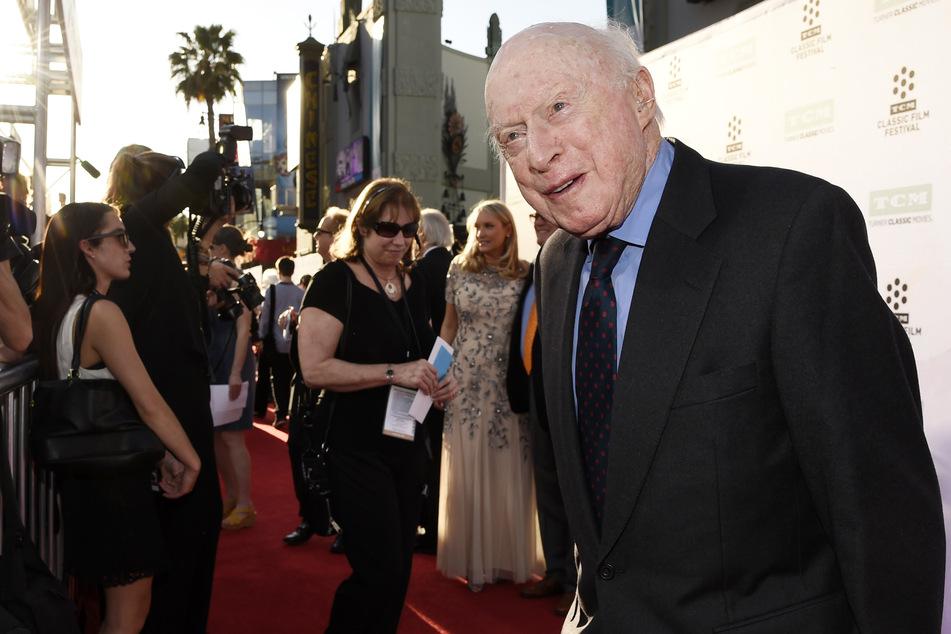 """Norman Lloyd (†106) war gern gesehener Gast bei Veranstaltungen, wie hier bei der Vorführung des Films """"The Sound of Music"""" in Los Angeles, 2015. Da war er bereits 100 Jahre alt!"""