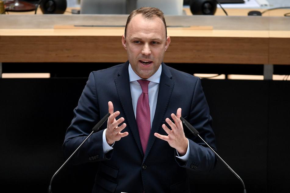 Sebastian Czaja (36), Fraktionsvorsitzender der Berliner FDP.