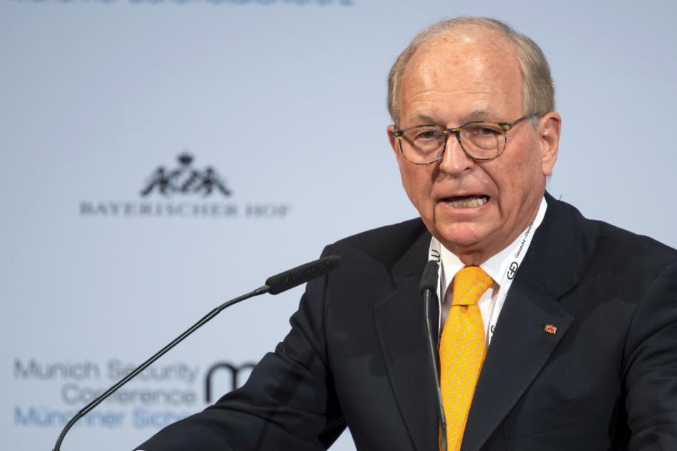 Wolfgang Ischinger, Vorsitzender der Münchner Sicherheitskonferenz, hat eine klare Haltung zur Rolle Deutschlands.