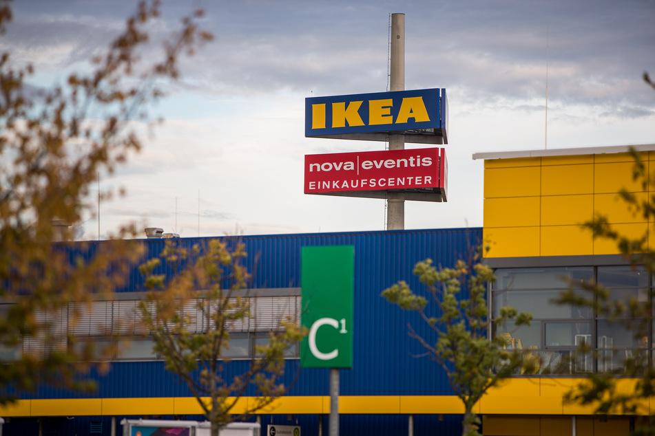 Die Ikeafiliale in Leuna hat am Mittwoch wieder geöffnet.
