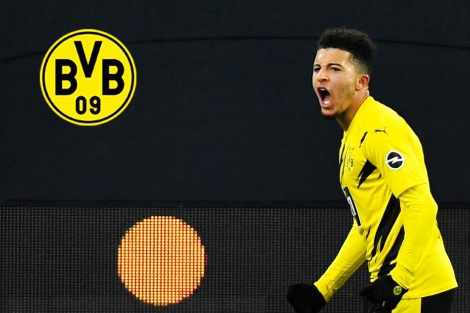 BVB-Star Jadon Sancho ganz oben auf der Liste: Spitzenklub buhlt erneut um Flügelflitzer!