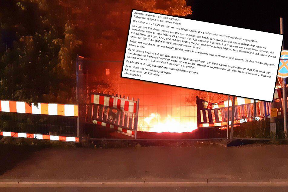 München: Gezielter Anschlag? Bekennerschreiben nach Blackout in München aufgetaucht