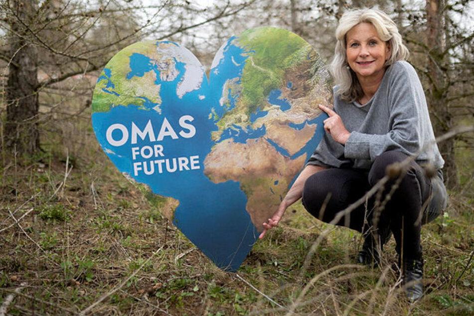 """Leipzig: Sie gründete die """"Omas for Future"""": Leipzigerin (62) zieht in den Klimakampf"""