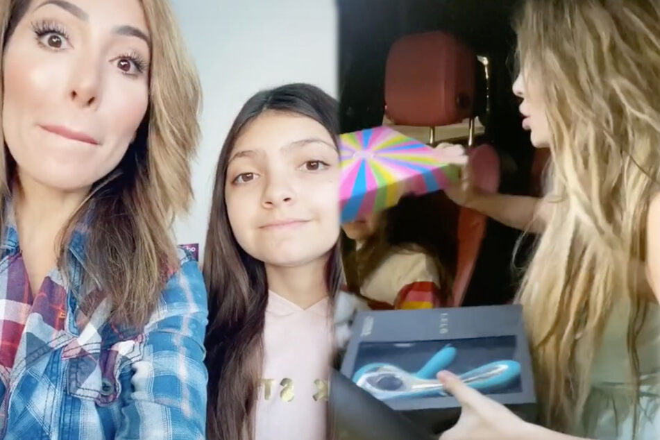 TV-Sternchen hält 11-jähriger Tochter Vibrator ins Gesicht