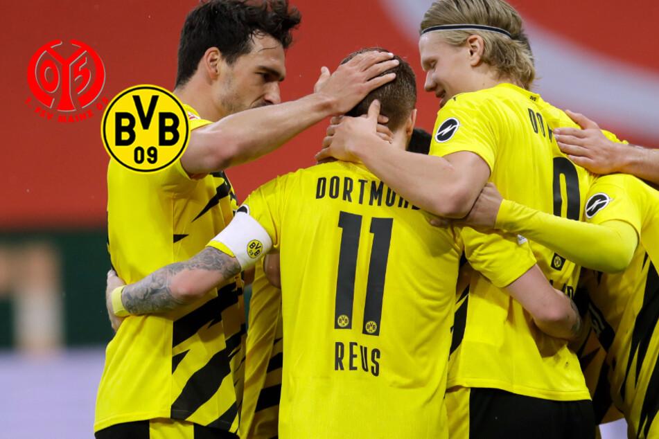 BVB königlich! Dortmund sichert sich gegen Mainz 05 die Champions-League-Qualifikation