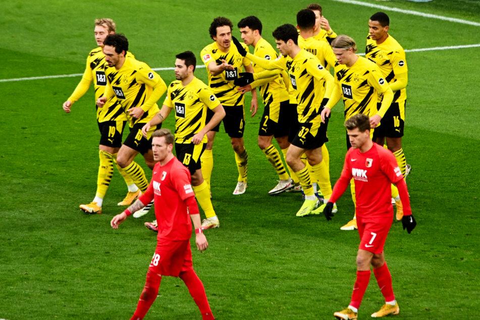 Nach zwei Niederlagen in Folge gewann der BVB endlich wieder und schoss sich aus der kleinen sportlichen Krise.