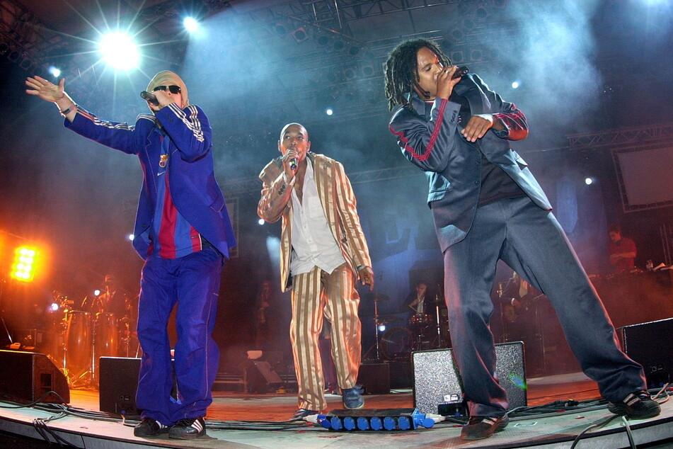 """Die Kult-Band """"Seeed"""" heizte 2002 dem """"Splash""""-Publikum ein."""