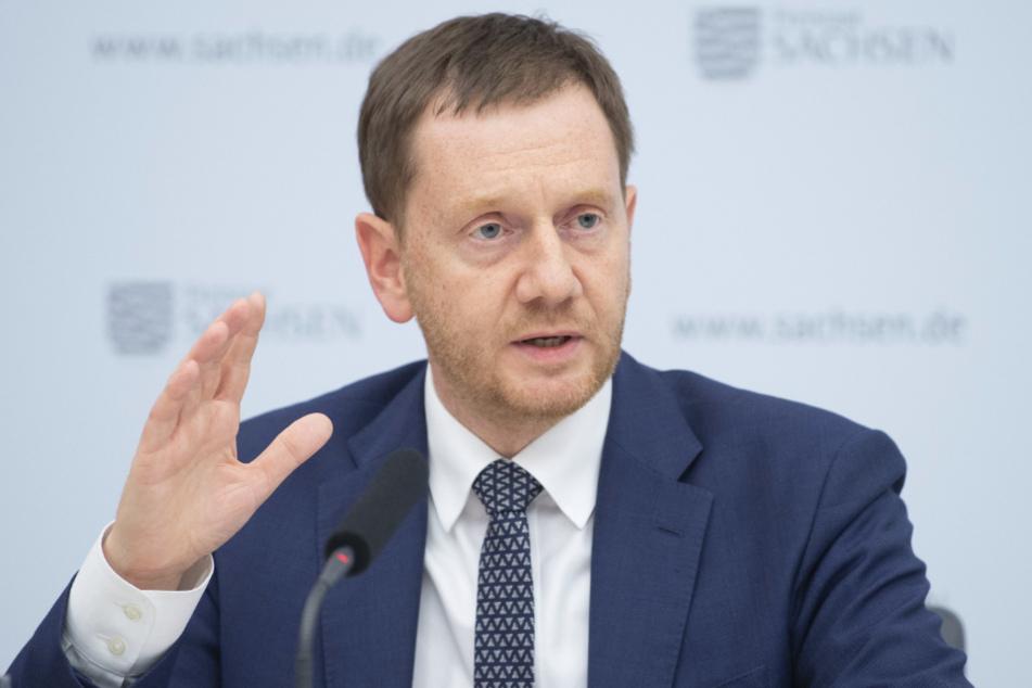 Sachsens Ministerpräsident Michael Kretschmer (45, CDU).