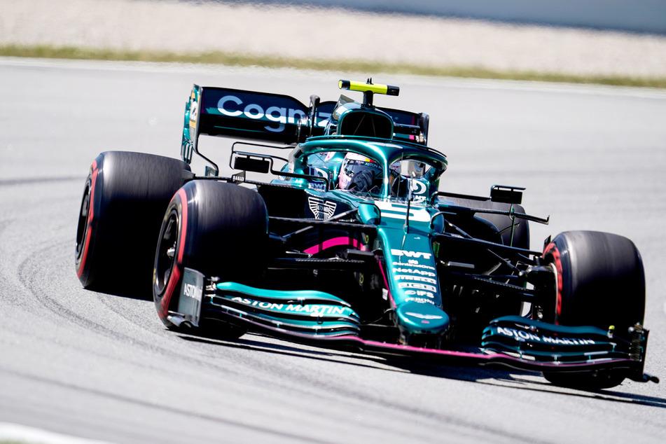 Sebastian Vettel (33) vom Team Aston Martin hatte keine Chance auf einen Podiumsplatz.