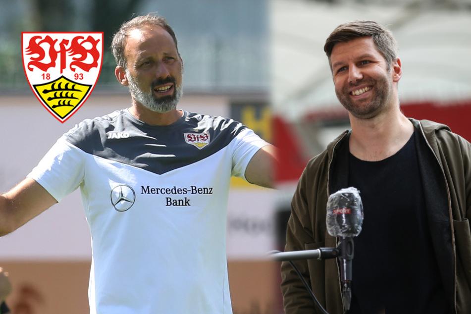 "VfB-Boss Thomas Hitzlsperger über Coach Pellegrino Matarazzo: ""Kann sein, dass er lauter wird"""