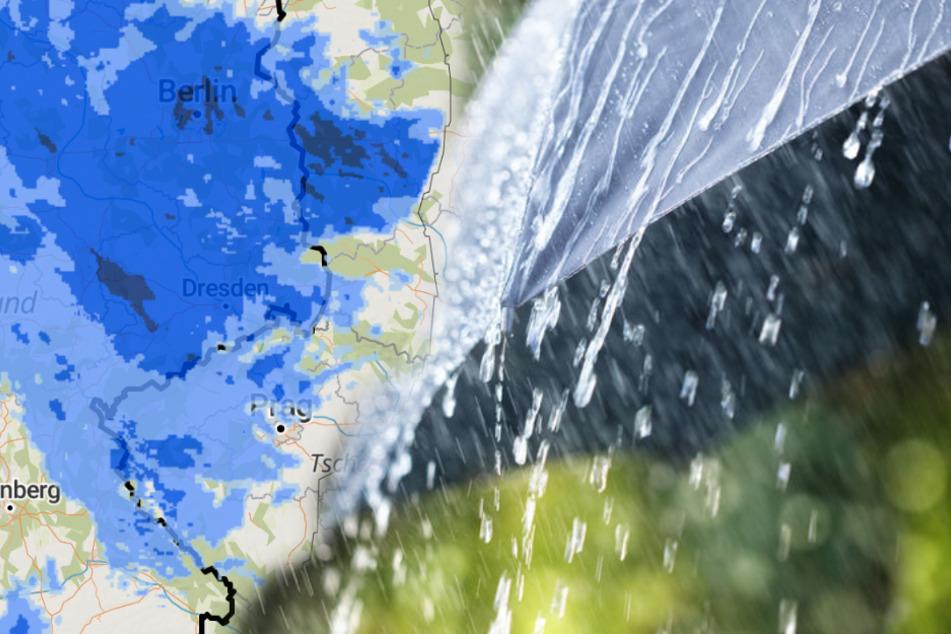 Mit Wind, Regen und sogar Schnee: Herbst in Deutschland angekommen