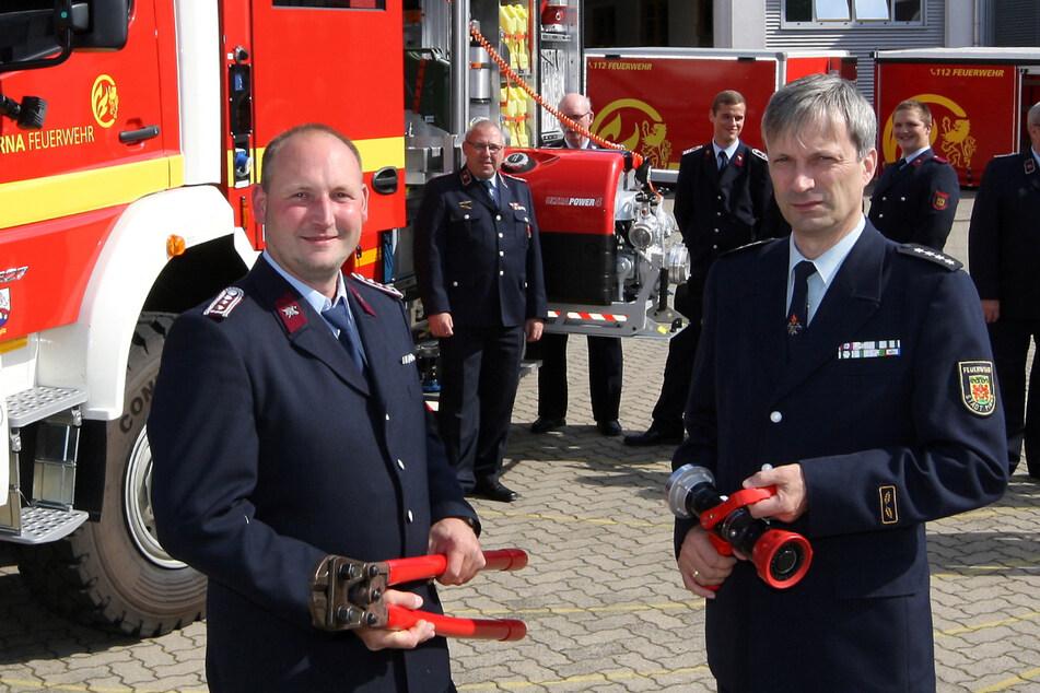 Gemeindewehrleiter Peter Kammel (56) hat ein neues Ausbildungsgerät.