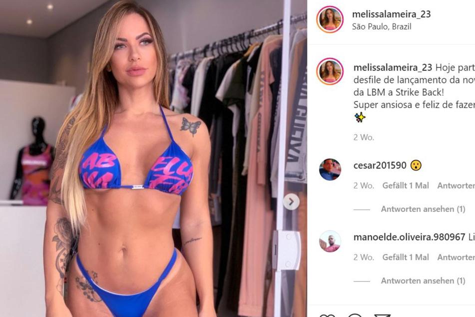 Melissa Lameira zeigt gerne ihre Figur.
