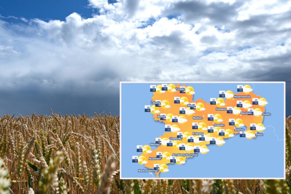 Wetter in Sachsen: Viele Wolken, doch wirklich nass wird es nicht