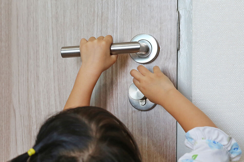 The Reddit user's brother-in-law locked the kids in a bedroom (stock image).