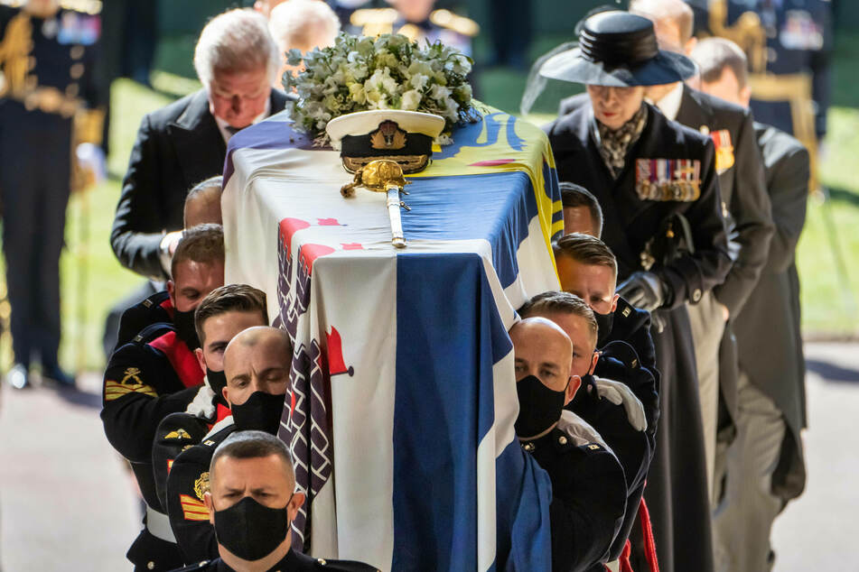 Prince Philip died on April 9. His funeral at Windsor Castle took place on April 17.
