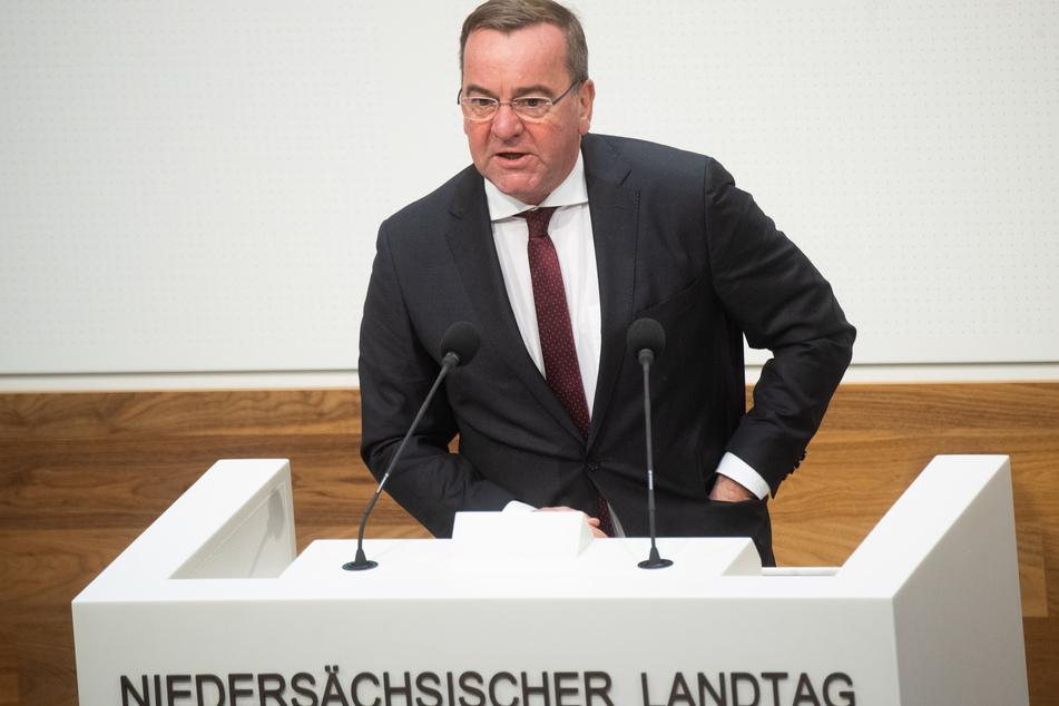 Boris Pistorius (SPD) ist der Innenminister von Niedersachsen.