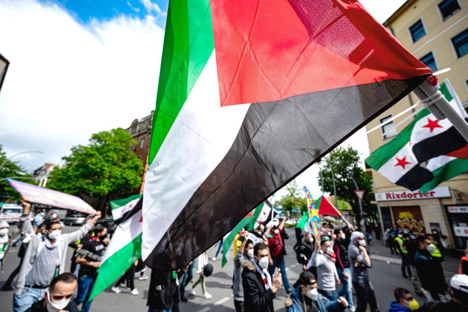 Berlin: Pro-palästinensische Demo in Berlin aufgelöst