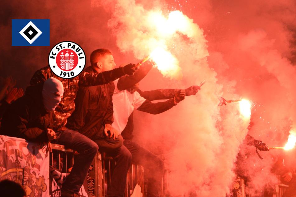 Pyro-Derby: DFB lässt Strafen für HSV und St. Pauli bestehen