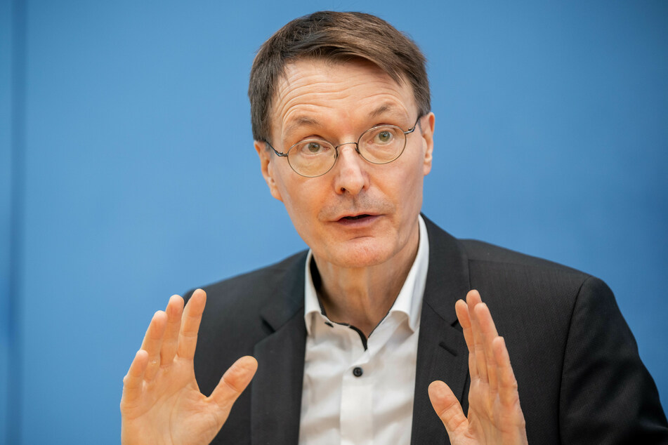 Der SPD-Gesundheitsexperte Karl Lauterbach (58).