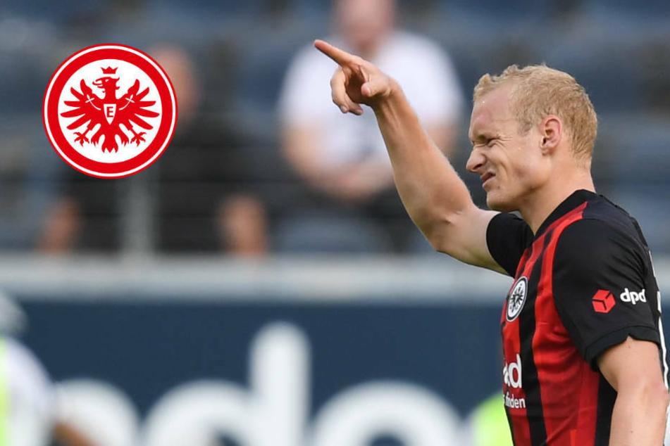 """Eintracht Frankfurts Sebastian Rode: """"Fredi Bobic steht nicht mit uns auf dem Feld"""""""