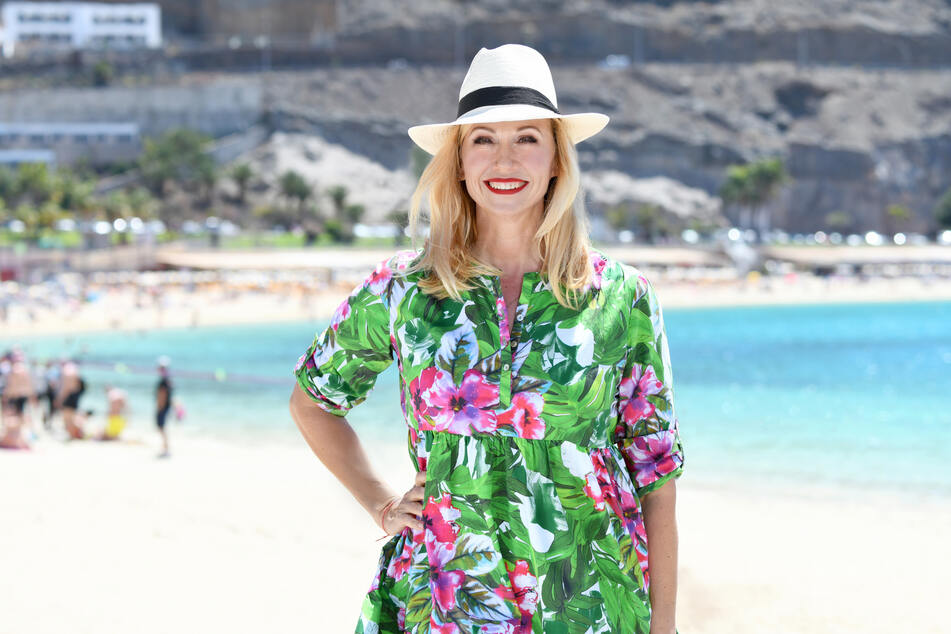 ZDF-Fernsehgarten-Moderatorin Andrea Kiewel (55).