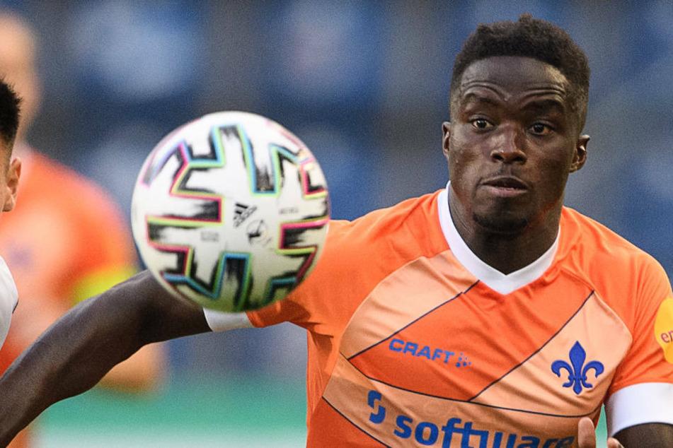 Braydon Manu (23) war im Juli 2019 aus Halle nach Südhessen gewechselt.