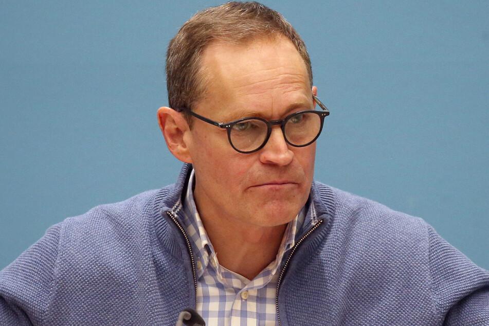 Berlins Regierender Bürgermeister Michael Müller (56, SPD).