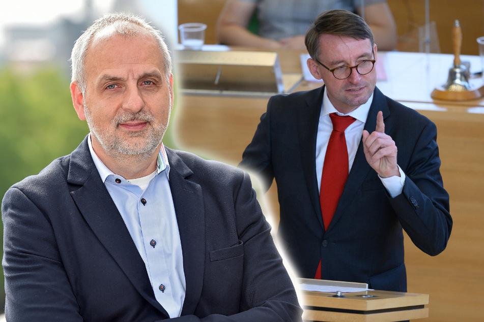 Rico Gebhardt (57) und die sächsische Linke fordern Konsequenzen für Innenminister Wöller.