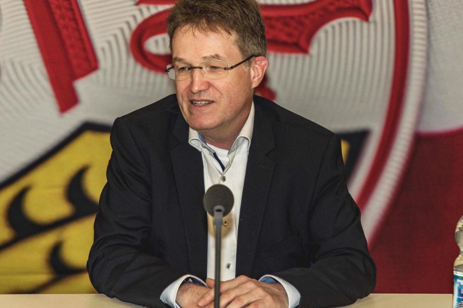 Will unbedingt Präsident des VfB Stuttgart werden: Pierre-Enric Steiger (49).