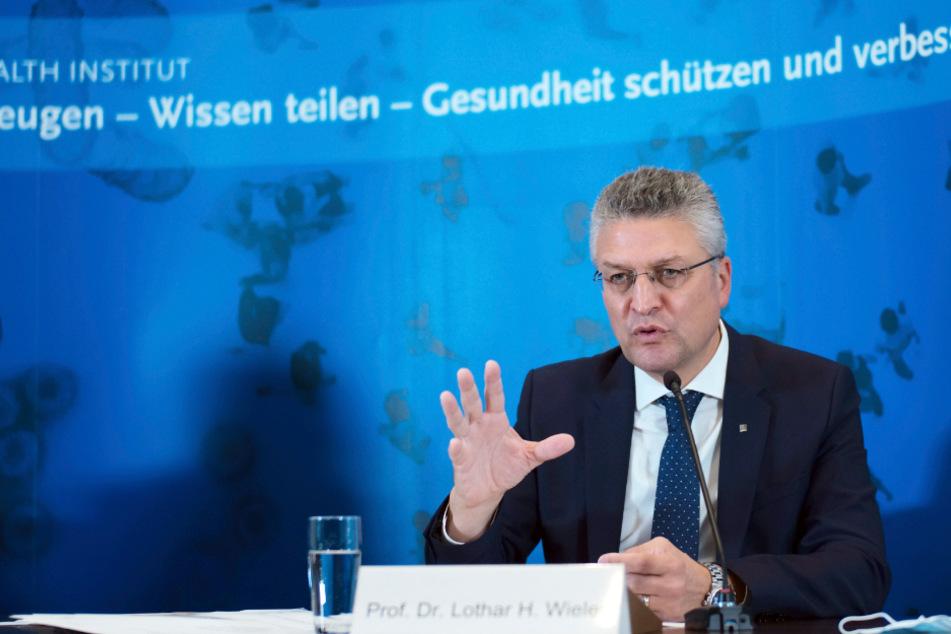 RKI-Präsident Lothar Wieler (59).