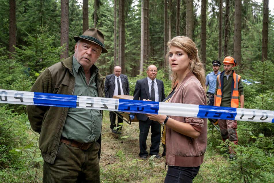 Karina Szabo (Lara Mandoki) ermittelte im letzten Fall - hier mit Georg Bergelt (Andreas Schmidt-Schaller).