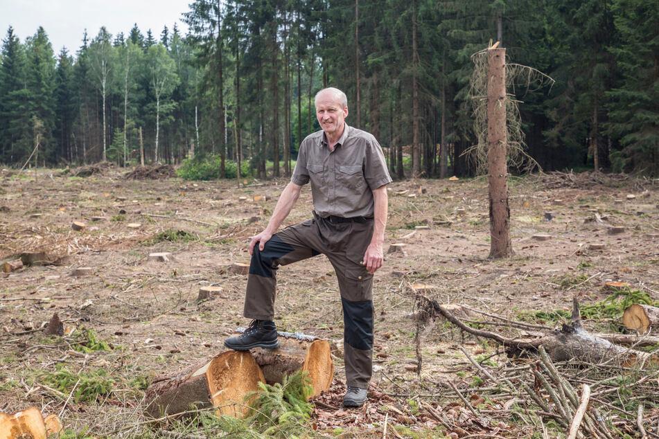 Heiko Müller (55) vom Forstbezirk Dresden.