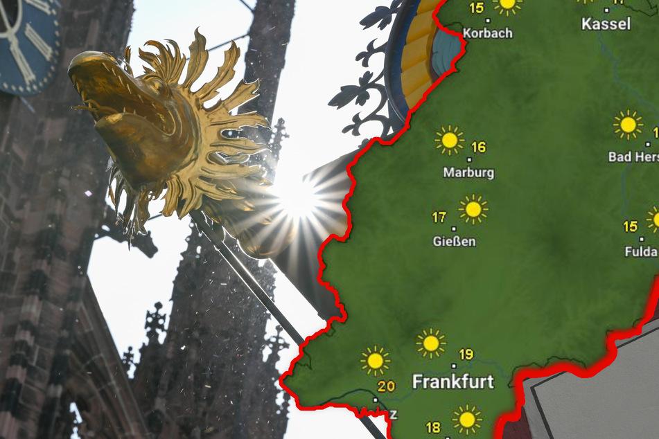 Die Hessen dürfen sich auf einen sonnigen und vor allem warmen Dienstag und Mittwoch einstellen (Symbolbild).