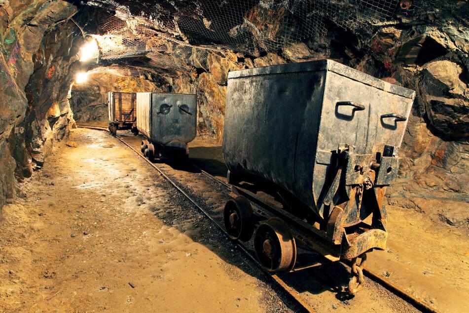 So sah Bergbau früher aus: Die abgebauten Rohstoffe wurden mühselig aus dem Stollen geschafft. Inzwischen kommen auch hier moderne Maschinen zum Einsatz. In Zukunft könnten auch Bakterien die Arbeit erleichtern. (Symbolbild)