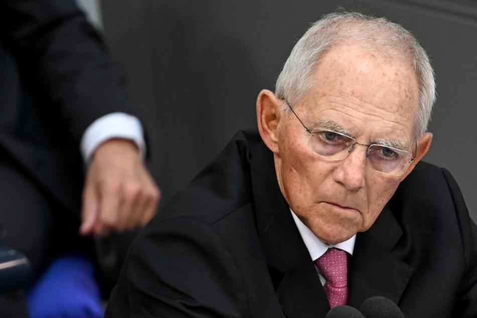 Wolfgang Schäuble (CDU), Präsident des Deutschen Bundestages will nochmal kandidieren.