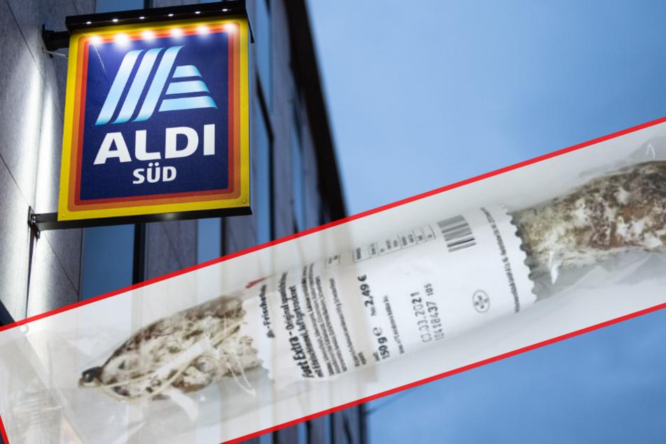 Salmonellen-Gefahr! Aldi Süd ruft Rohwurst zurück