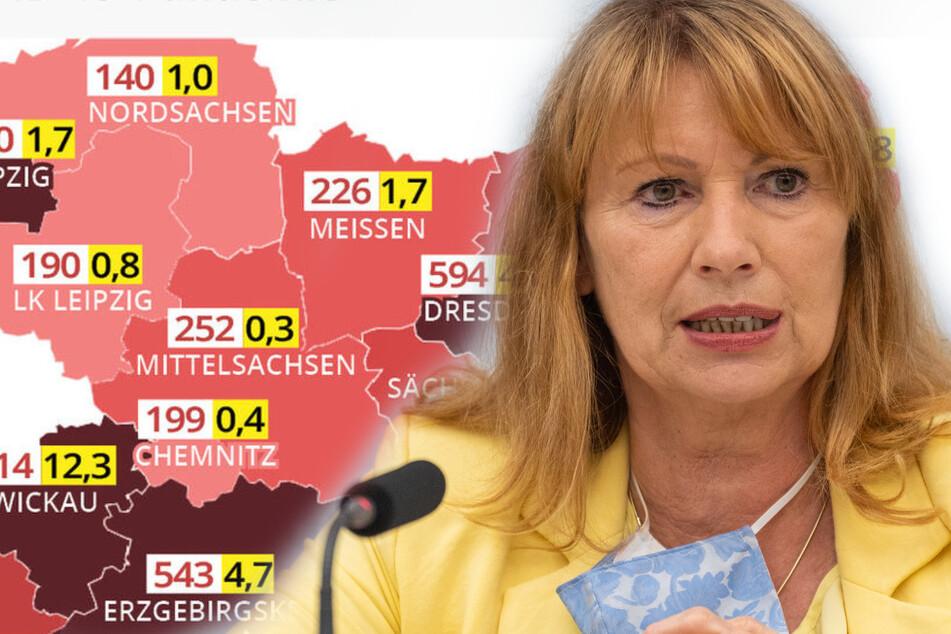 50 Neuinfizierte pro 100.000 Einwohner: Die magische Corona-Grenze in Sachsen