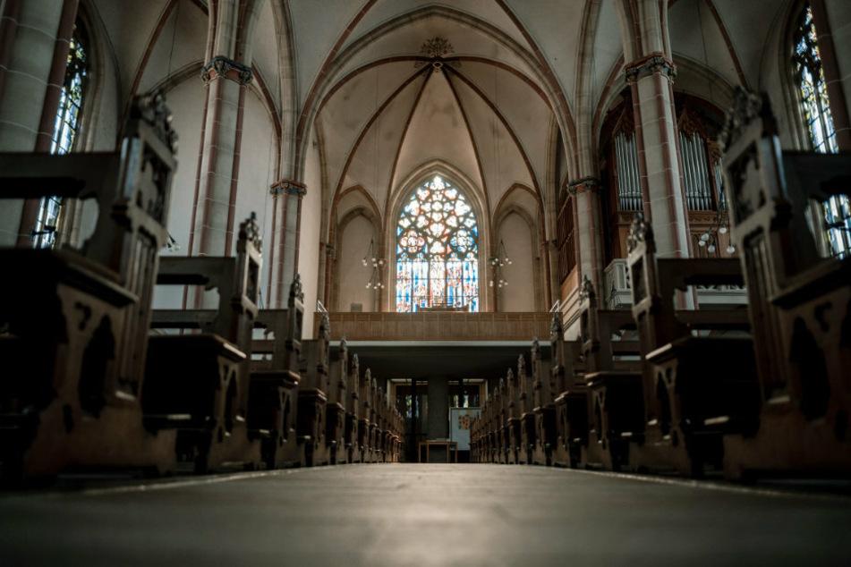 Eine leere Kirche. (Symbolbild)