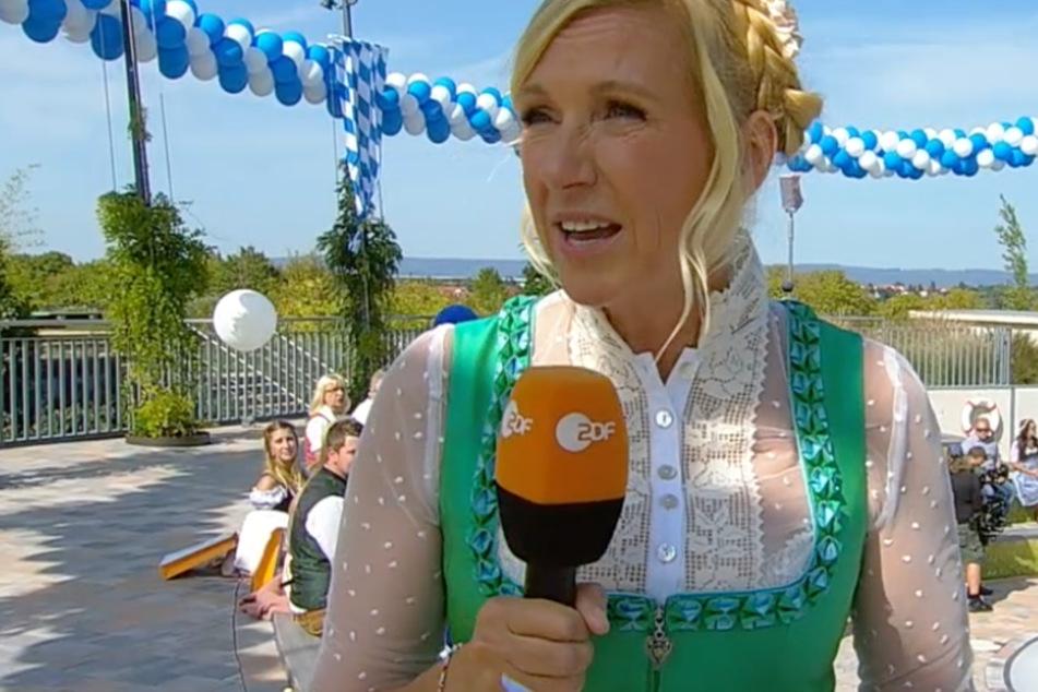 Schlüpfriger ZDF-Fernsehgarten: Fans erfahren, was Andrea Kiewel unterm Dirndl trägt