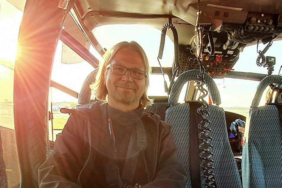 War mit auf Patrouille: TAG24-Reporter Alexander Bischoff.