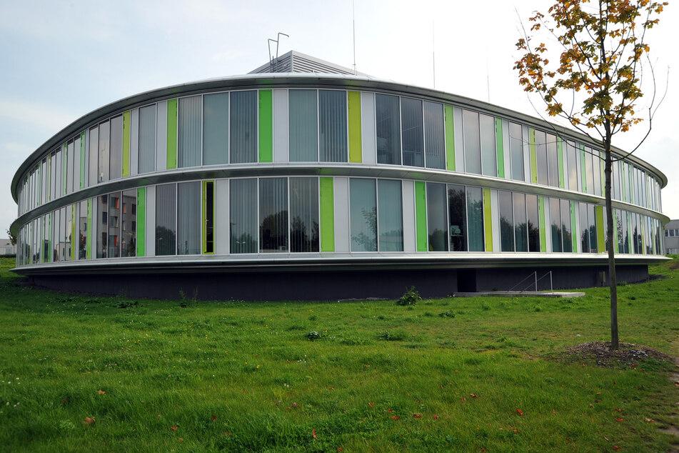 Ein Dienstgebäude des Landeskriminalamtes (LKA) von Mecklenburg-Vorpommern in Rampe bei Schwerin.